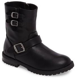 Frye Girl's Veronica Buckle-Strap Engineer Boot