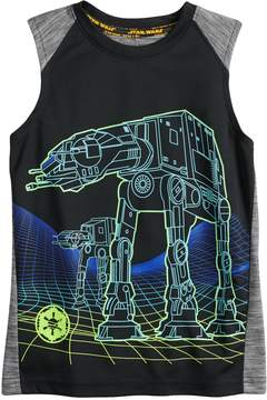 Star Wars A Collection For Kohls Boys 4-7x a Collection for Kohl's AT-AT Walker Tank