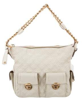 Marc Jacobs Quilted Hobo Bag - NEUTRALS - STYLE