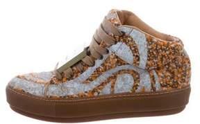 Acne Studios Cleo Tweed Sneakers