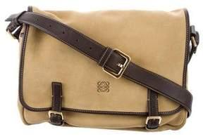 Loewe Suede Messenger Bag
