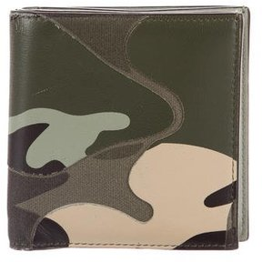 Valentino Camouflage Leather Wallet