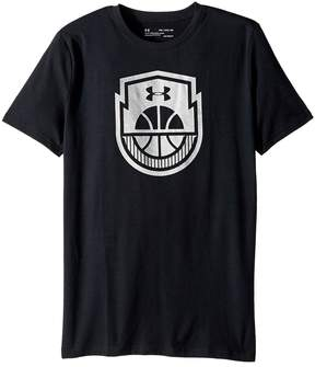 Under Armour Kids Basketball Icon Short Sleeve Tee Boy's T Shirt