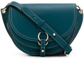 Tila March contrast stitch shoulder bag