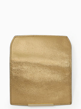 Kate Spade Make it mine metallic pebble flap - GOLD MULTI - STYLE