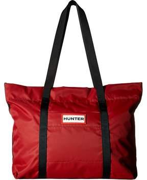 Hunter Nylon Tote Tote Handbags