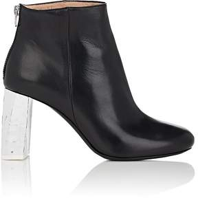 Acne Studios Women's Claudine Leather Ankle Booties