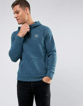 Hollister Overhead Hoodie Athletic Icon Logo in Navy Marl