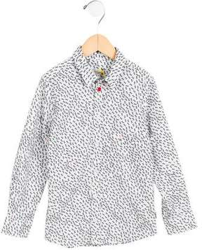 Paul Smith Boys' Ant Button-Up Shirt w/ Tags