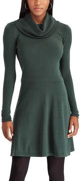 Chaps Women's Cowlneck Sweater Dress