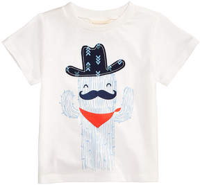 First Impressions Cactus-Print Cotton T-Shirt, Baby Boys (0-24 months), Created for Macy's