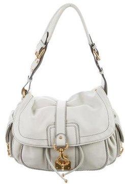 Marc Jacobs Leather Shoulder Bag - GREY - STYLE