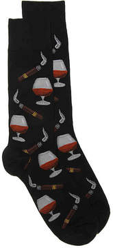 Hot Sox Men's Cognac Dress Socks
