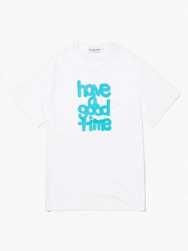 Have A Good Time Fat Logo S/S T-Shirt - White