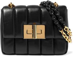 Tom Ford Natalia Large Quilted Leather Shoulder Bag - Black