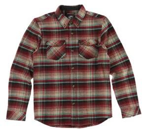 O'Neill Boy's Butler Plaid Flannel Shirt