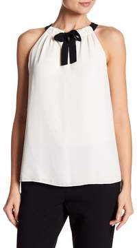 Ellen Tracy Tie Neck Halter