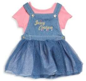 Juicy Couture Baby's Two-Piece Dress and Top Set
