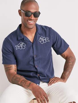 Lucky Brand Anywhere Else Club Collar Shirt