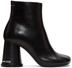Maison Margiela Black Cup to Go Ankle Boots