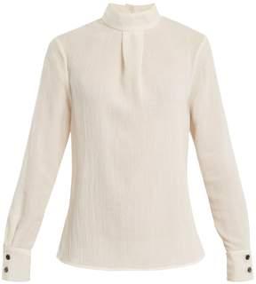 DAY Birger et Mikkelsen CEFINN High-neck voile blouse