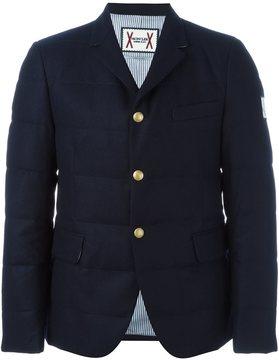 Moncler Gamme Bleu padded blazer jacket