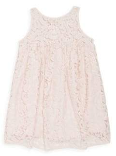 Milly Minis Toddler's & Little Girl's Lace Babydoll Dress