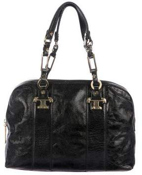 Tory Burch Patent Leather Handle Bag
