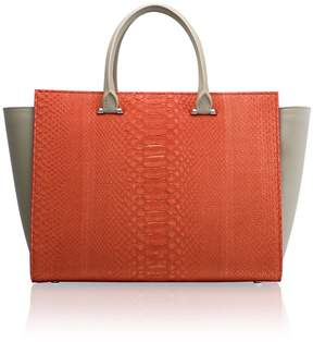 Amanda Wakeley Eastwood Paradise Python Handbag