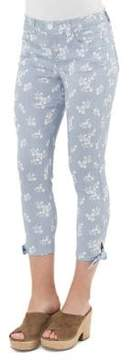 Democracy Cropped Floral Jeans