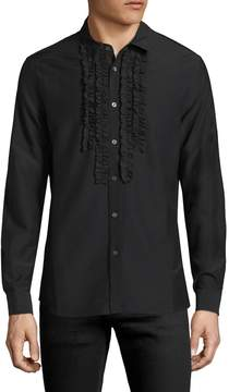 BLK DNM Men's 73 Ruffled Sportshirt
