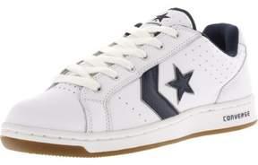 Converse Karve Ox White / Navy Ankle-High Fashion Sneaker - 10.5M 9M