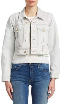 Carven Crop Denim Jacket