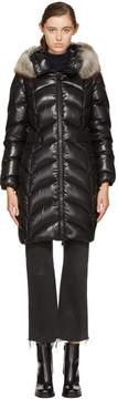 Moncler Black Down Albizia Coat