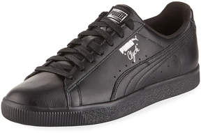 Puma Men's Clyde Premium Core Leather Sneakers, Black