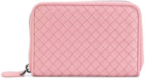 Bottega Veneta woven zipped purse