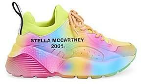 Stella McCartney Stella McCartney Women's Eclypse Tie-Dyed Platform Sneakers
