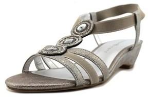 Karen Scott Casha Open Toe Synthetic Sandals.