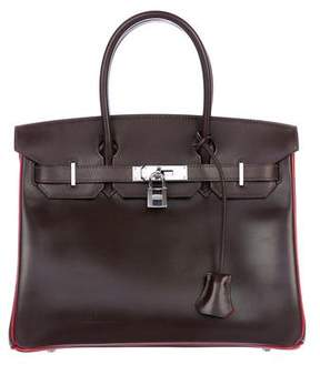 Hermes Two-Tone Box Birkin 30