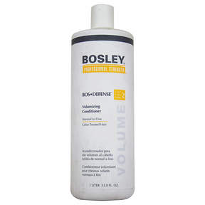 Bosley Professional Strength Bos-Defense Volumizing Conditioner, Normal To Fine Color-Treated Hair