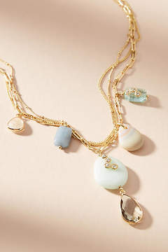 Anthropologie Mira Layered Y-Necklace