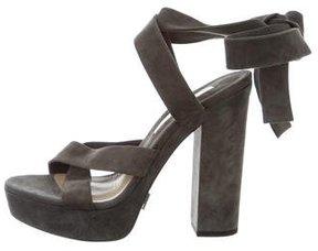 Michael Kors Wrap-Around Platform Sandals