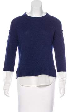 Brochu Walker Wool & Cashmere Layered Sweater