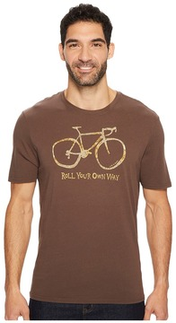 Life is Good Roll Your Own Way Smooth Tee Men's Short Sleeve Pullover