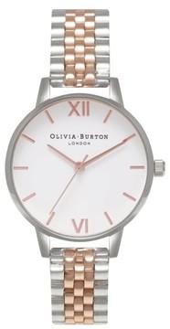 Olivia Burton Women's Midi Round Bracelet Watch, 30Mm