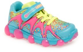 Stride Rite Girl's 'Leepz' Light-Up Sneaker