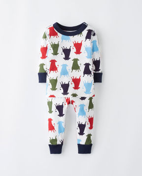 Hanna Andersson Ferdinand Long John Pajamas In Organic Cotton