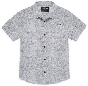 Zoo York Short Sleeve Button-Front Shirt Boys