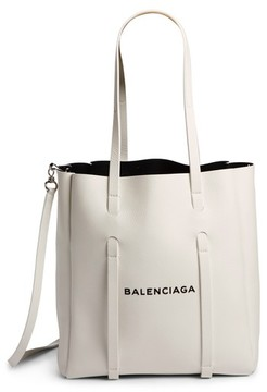 Balenciaga Extra Small Everyday Calfskin Tote - White