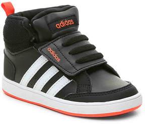 adidas Boys NEO Hoops Mid Toddler High-Top Sneaker